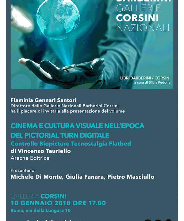 """Presentazione libro """"Cinema e cultura visuale nell'epoca del Pictorial Turn Digitale"""""""
