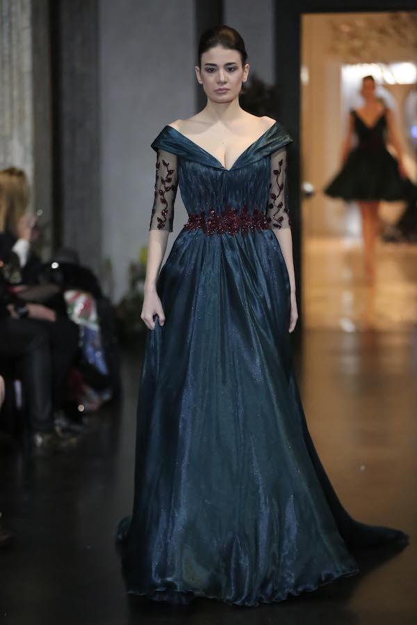 """Alta Roma Fashion Week: in passerella per """"Victoria"""" l'Alta Moda di Abed Mahfouz"""