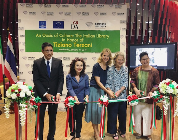 A Bangkok la Biblioteca Italiana intitolata a Tiziano Terzani