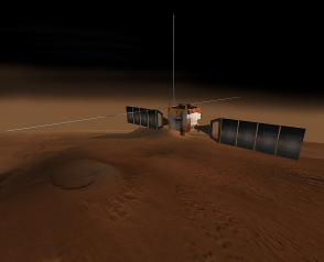 Il radar italiano MARSIS individua la presenza di acqua liquida su Marte