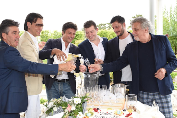 25 candeline per il manager dei vip Settimio Colangelo