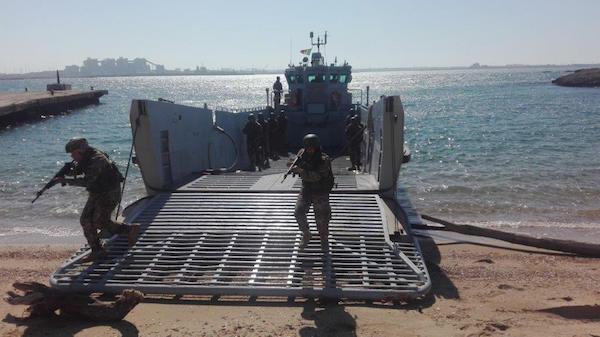 Terminato il 2° Corso di Indottrinamento Anfibio per il personale della Marina Libica