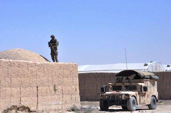 Afghanistan: Italia a supporto dell'operazione interregionale
