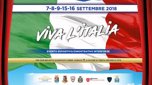 """Le Forze Armate a Cinecittà World per la manifestazione """"Viva l'Italia"""""""