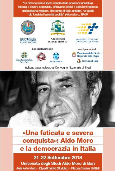 """Messaggio del Presidente Mattarella in occasione del Convegno Nazionale """"Una faticata e severa conquista: Aldo Moro e la democrazia in Italia"""""""