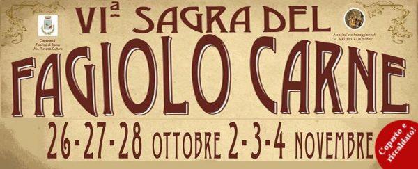 Sesta edizione per la sagra di Fabrica di Roma che celebra uno dei prodotti gastronomici più di nicchia nella Tuscia viterbese: il Fagiolo Carne