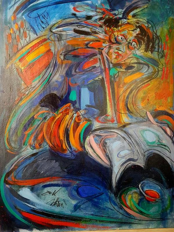 "SpazioCima: ""Colore e Dinamismo"" da mercoledì in mostra i ""Frammenti di vita"" di Nino Attinà"