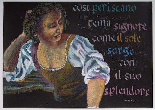 """""""Compagne di scuola. Elisabetta Catalano e Simona Weller"""" a Calcata nel Palazzo Baronale Anguillara"""