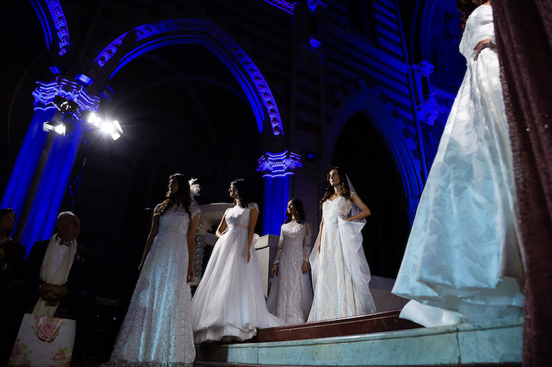 "L'Alta Moda Sposa a ""RomaFashion White"" sfila in Chiesa"