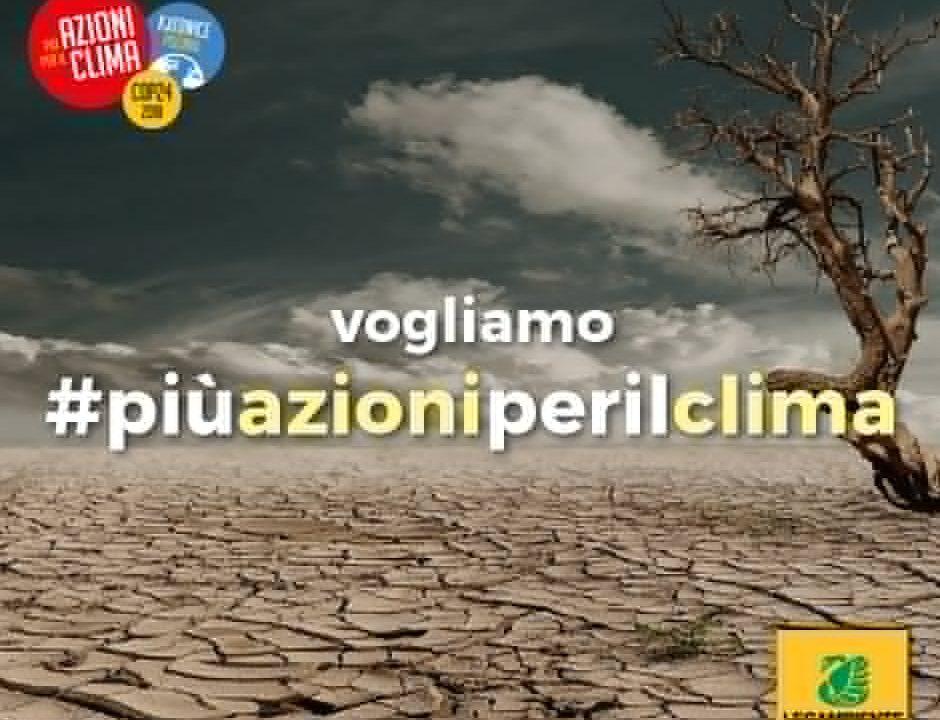 """Chiusura COP24, Legambiente: """"Risposta inadeguata dei governi all'urgenza della crisi climatica"""" ."""