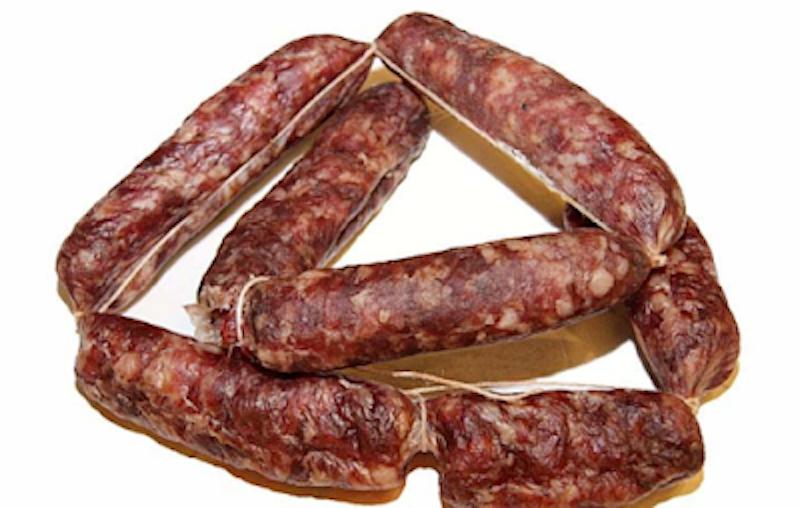 Salute: richiamo da parte del Ministero della Salute della salsiccia secca Siena del Salumificio Ciliani per presenza di Salmonella