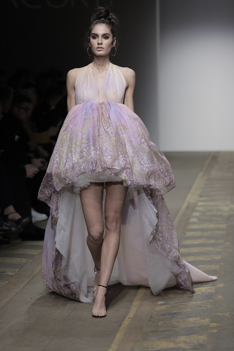 "La Bellezza di ""Hedoné"" sulla passerella di Giada Curti Haute Couture Collection S/S 2019"