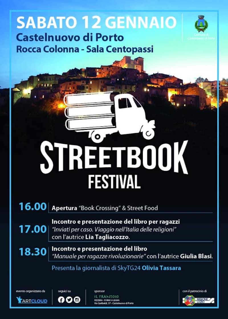 StreetBook Festival, parte oggi il 1° festival letterario su tre ruote: libri e food tra i borghi del Lazio