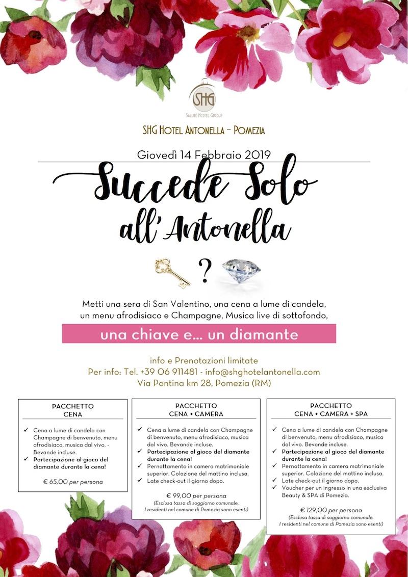 Mille modi di vivere il San Valentino