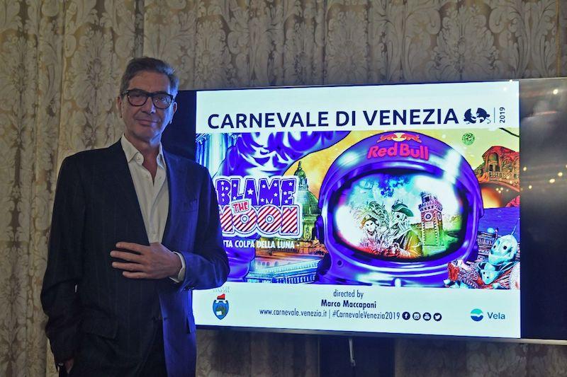 """Presentazione del Programma del Carnevale di Venezia 2019 """"Blame the moon. Tutta colpa della Luna"""""""