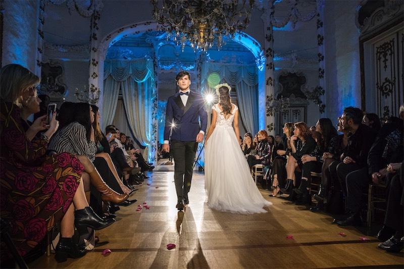 La moda sposa di Maria Laurenza illumina il bridal weekend a Palazzo Brancaccio