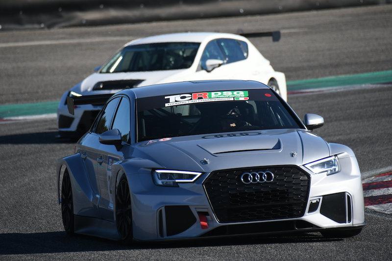 Il TCR DSG Endurance fa il pieno ai test di Adria