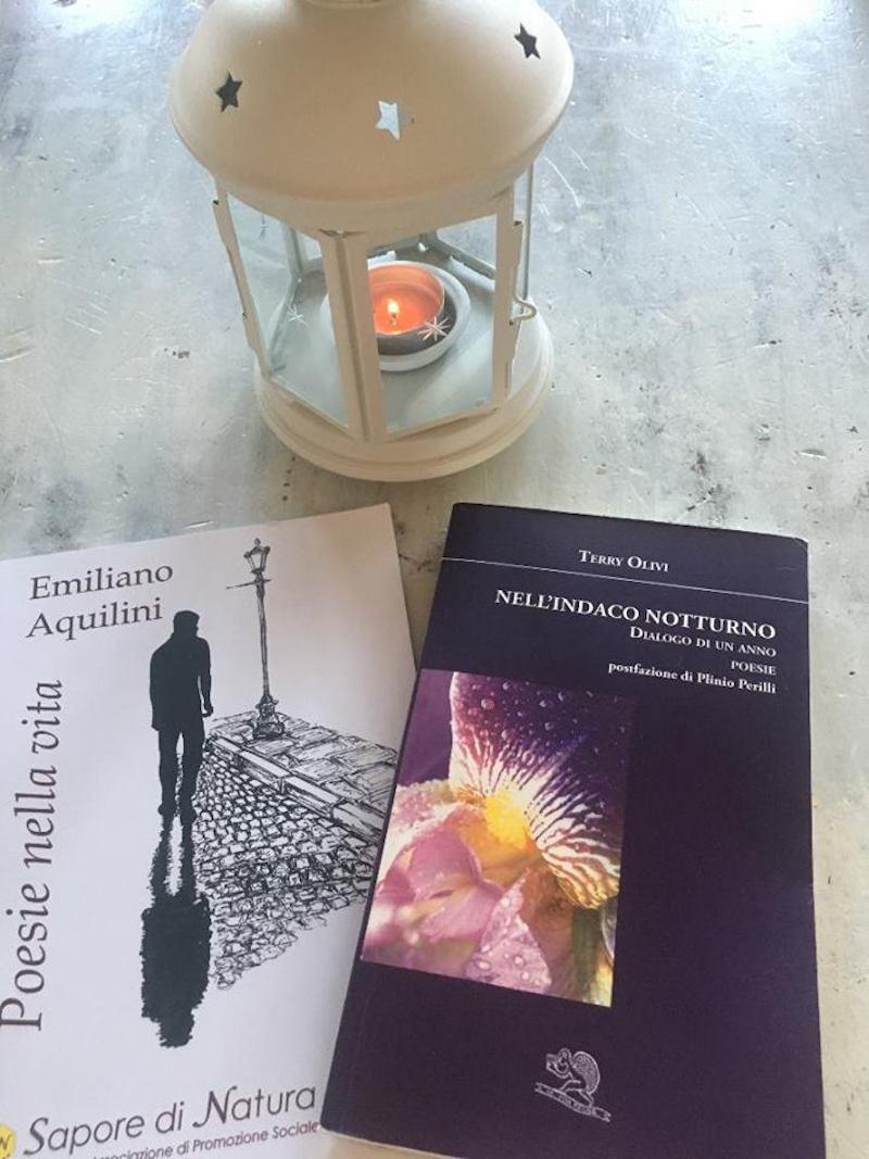 """""""Poesia in Tandem"""" a Genzano: i poeti Terry Olivi ed Emiliano Aquilini presentano loro ultimi libri"""