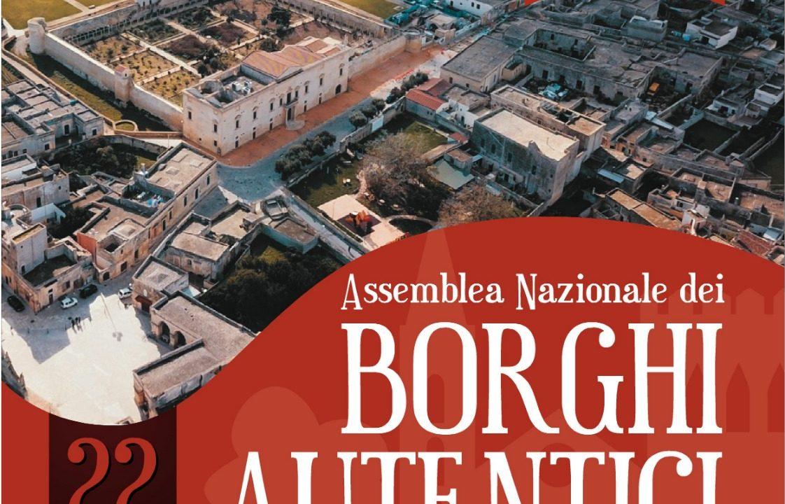 Associazione Borghi Autentici d'Italia: Assemblea Nazionale 2019 all' Ex Convento degli Agostiniani a Melpignano (Lecce)
