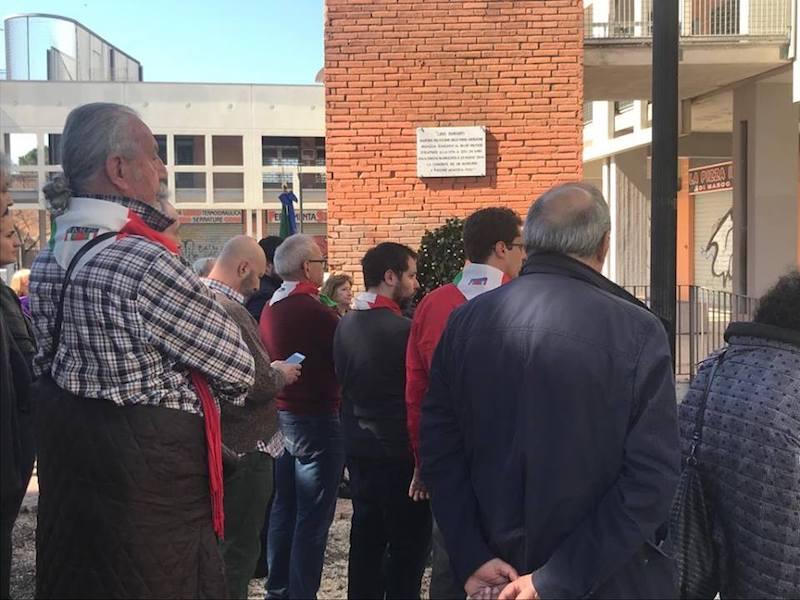 Commemorazioni X Municipio Eccidio Fosse Ardeatine e Martire Lido Duranti