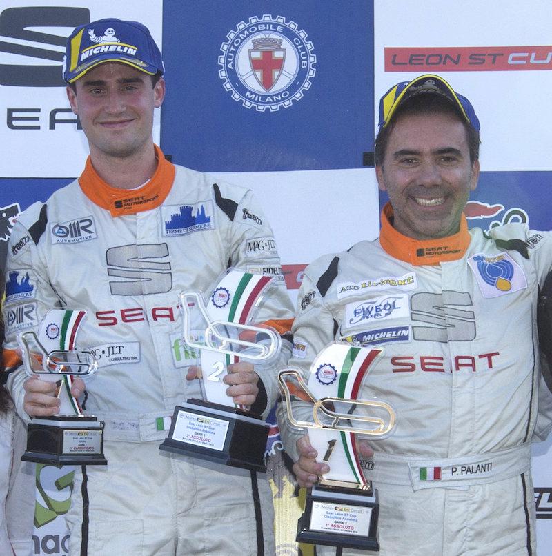 Franco Gnutti e Paolo Palanti in equipaggio nel TCR DSG Endurance sulla Golf di Elite Motorsport