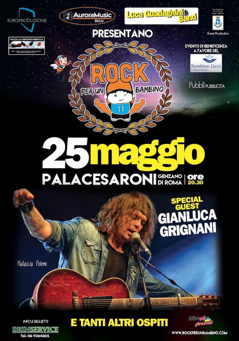 """Torna """"Rock per un bambino"""": l'evento di solidarietà con i big della musica e dello spettacolo"""