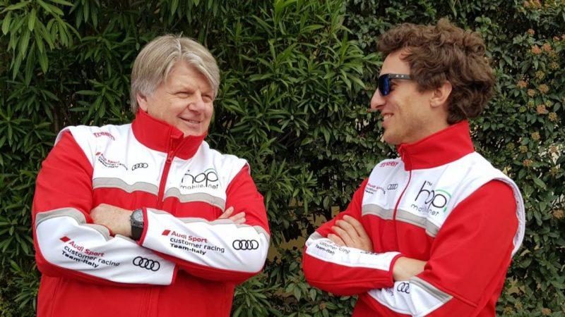 Dionisio e Barri lanciatissimi nel TCR DSG Endurance con l'Audi