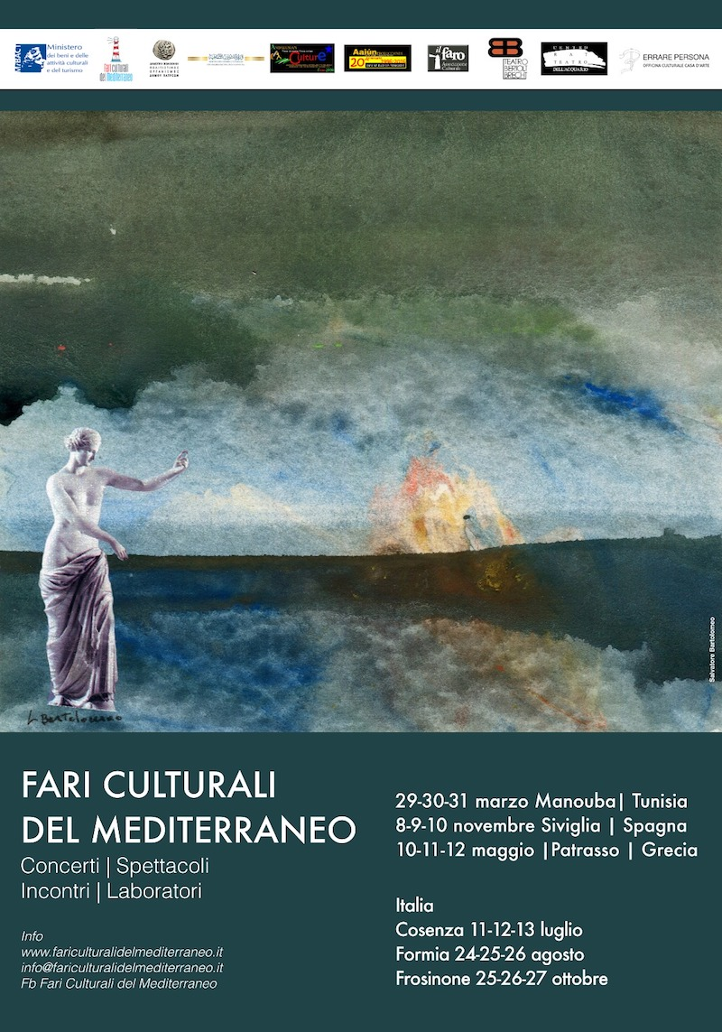 """""""I Fari culturali del Mediterraneo"""" : musica, arte e teatro"""