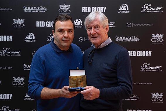 Sir Martin Edwards (Manchester United), premiato in Franciacorta da Arte&Golf