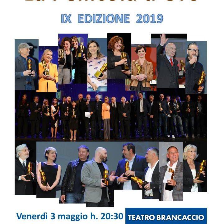 """Premio """"La Pellicola d'Oro"""". Il 3 maggio al Teatro Brancaccio di Roma. Tantissimi gli ospiti attesi."""
