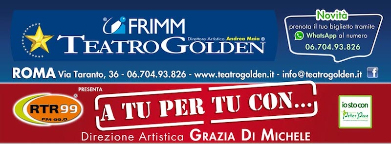 """""""A tu per tu con"""": Carlo Marrale e la storia dei Matia Bazar il 30 e 31 marzo al Teatro Golden"""