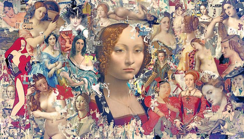 """Il Margutta – Leonardo da Vinci diventa """"pop"""" e digitale: apre il 15 la mostra di Brivido Pop in via Margutta"""