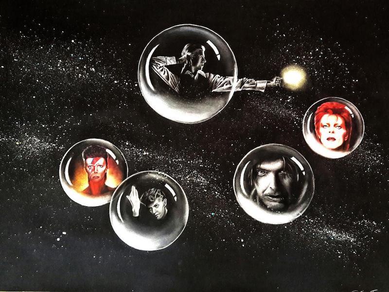 """SpazioCima: """"Far above the moon"""", dal 4 al 21 giugno la mostra su David Bowie, a 50 anni da """"Space Oddity"""""""