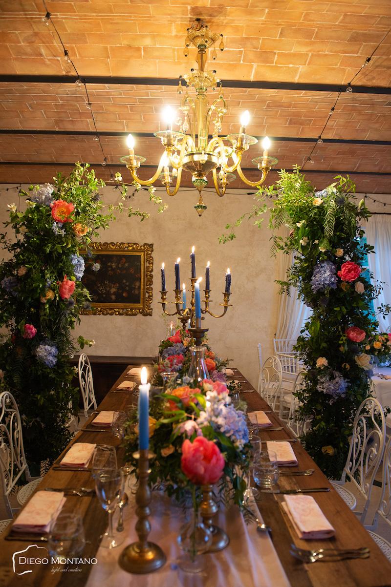 Trionfale opening party per Barbara Vissani che lancia Villa Baldacchini nel mondo del wedding