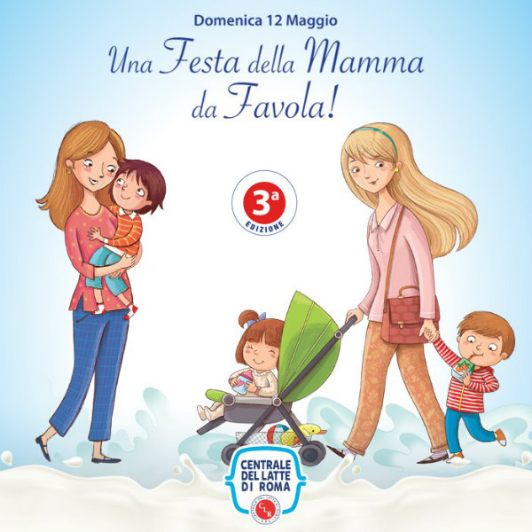Terza edizione della Festa della Mamma alla Centrale del Latte di Roma: musica, laboratori, regali e showcooking