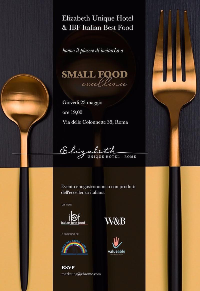 Small Food Excellence: fare del bene, mangiando meglio