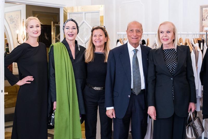 Tantissimi ospiti al Peristilio Vanni per la presentazione della Collezione Primavera/Estate del brand Rione Carducci