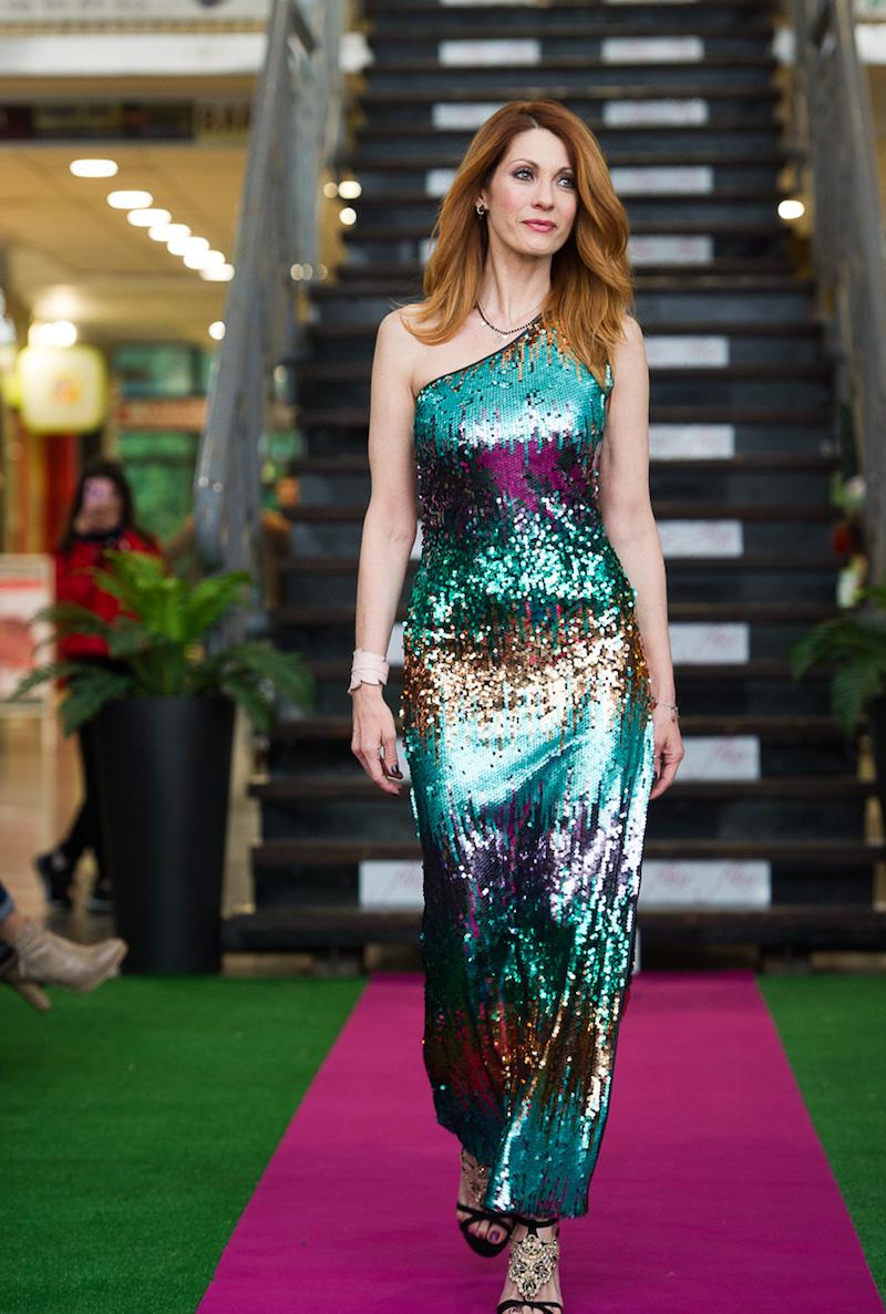 Milena Miconi protagonista dell'evento di lancio di Flair – Il Tuo Stile