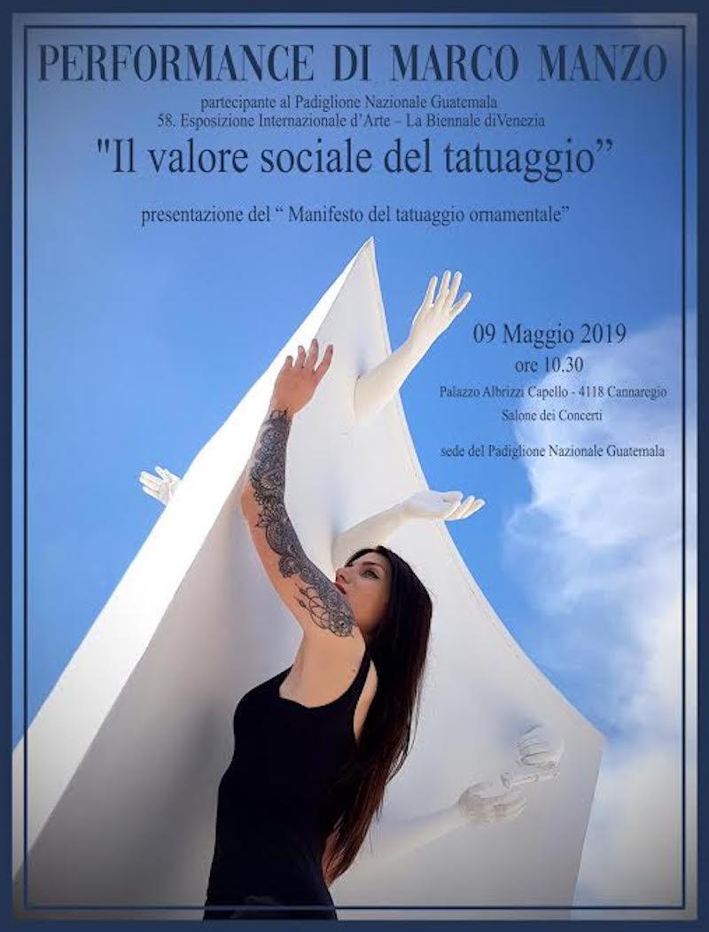 Il valore sociale del tatuaggio nel Padiglione Guatemala alla 58 alla Biennale Internazionale d'Arte di Venezia
