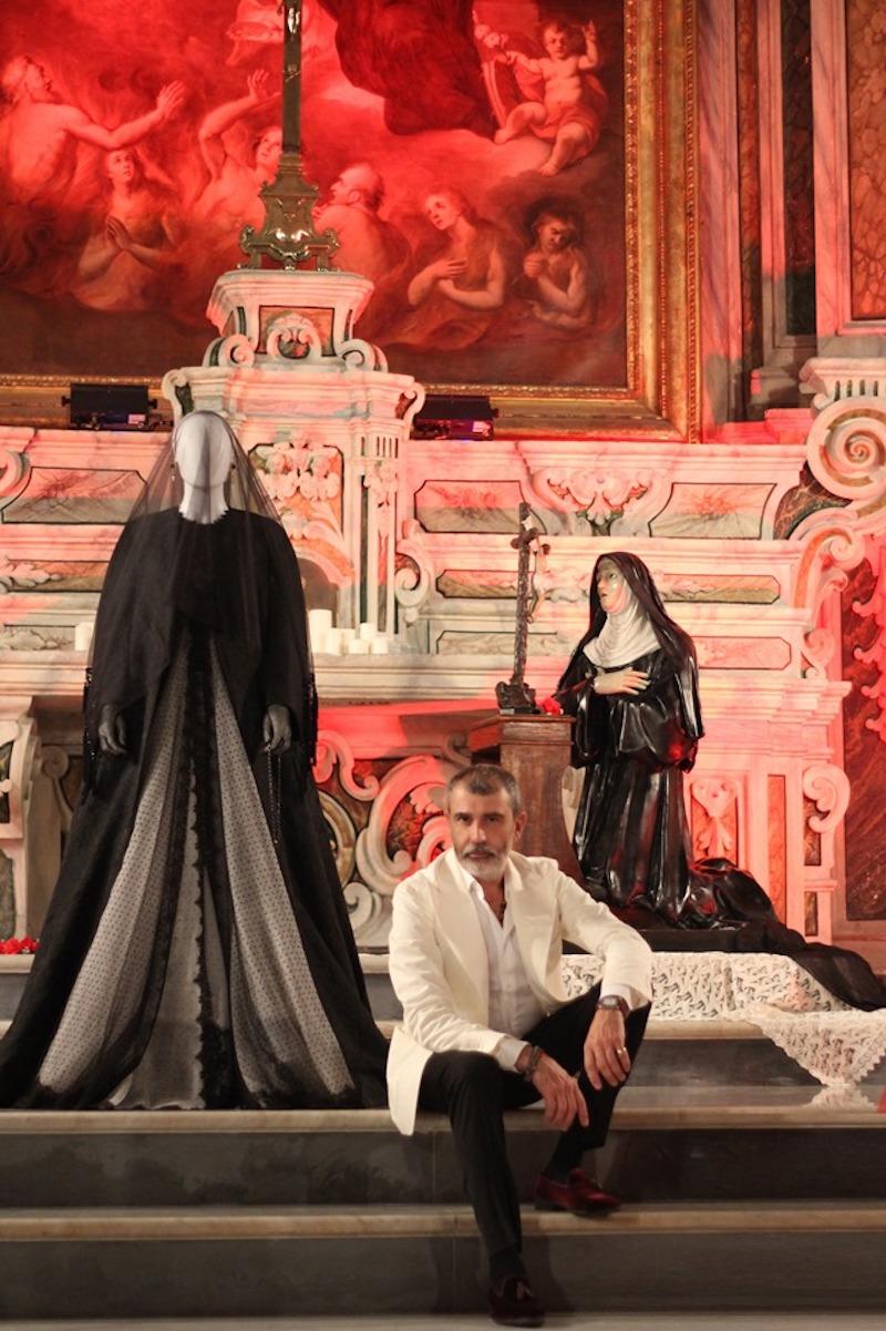 Il Fashion Designer Michele Miglionico sfila all'Ambasciata d'Italia a Belgrado