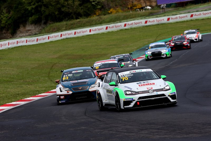 TCR DSG Endurance: Dionisio-Barri su Audi conquistano Vallelunga