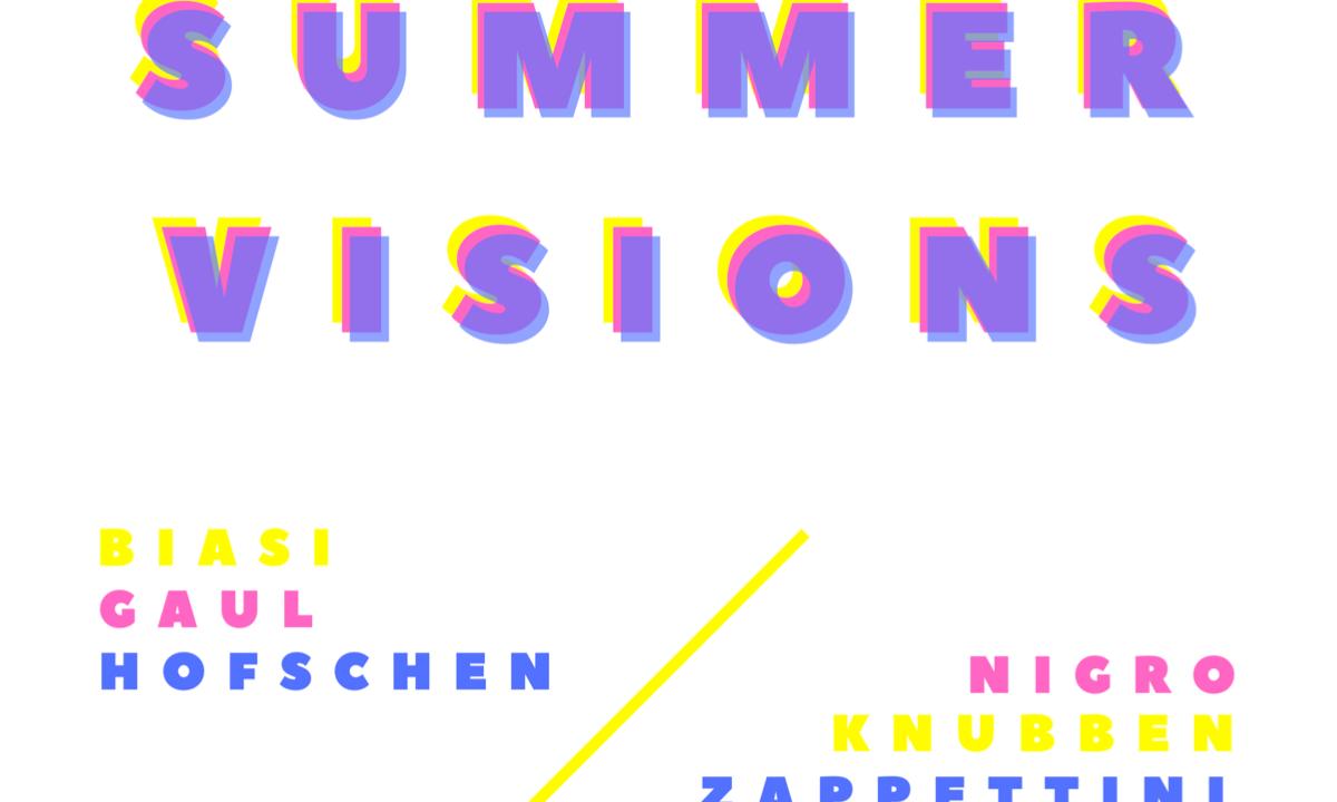 """Galleria Menhir Arte Contemporanea: collettiva """"Summer Visions"""" dal 28 giugno al 28 luglio"""