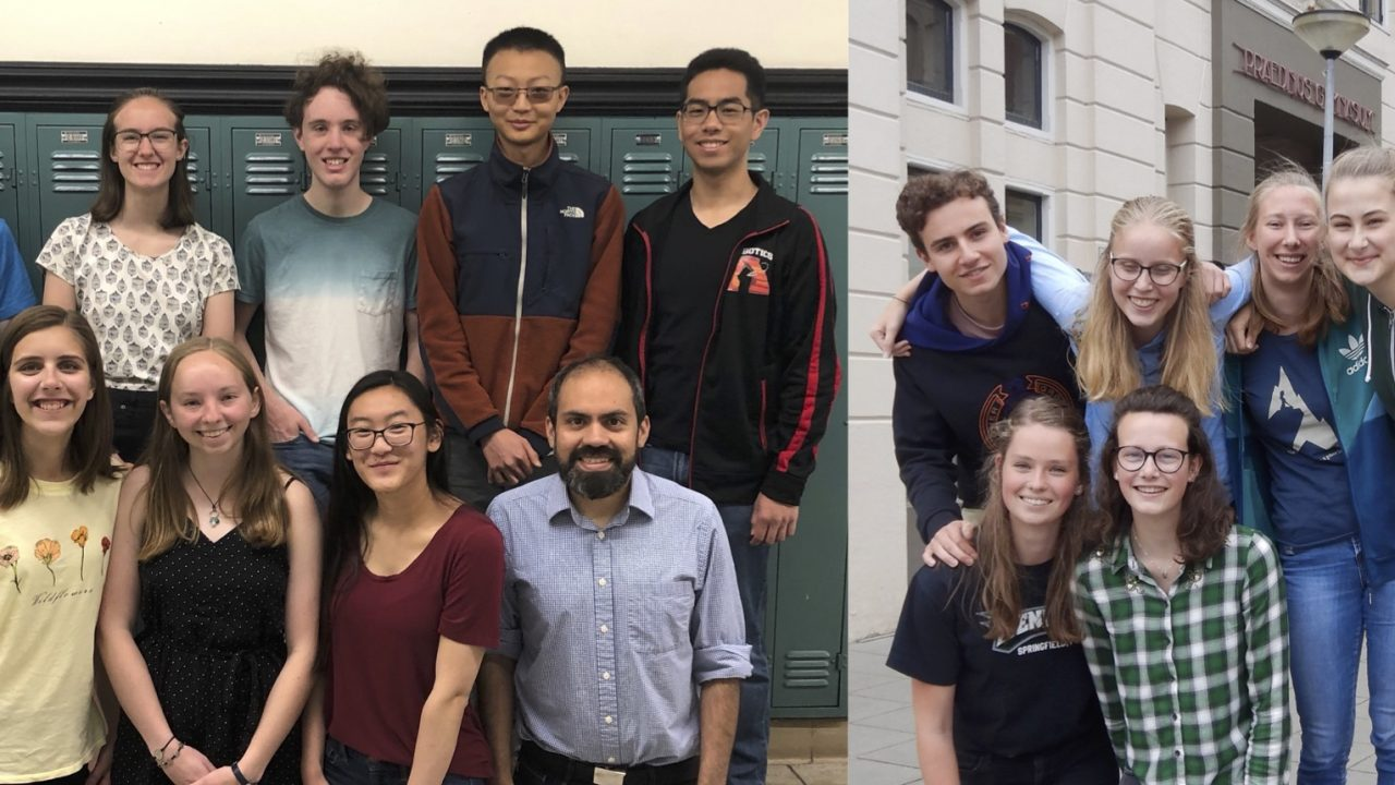 Dutch and US students win 2019 CERN Beamline for Schools competition