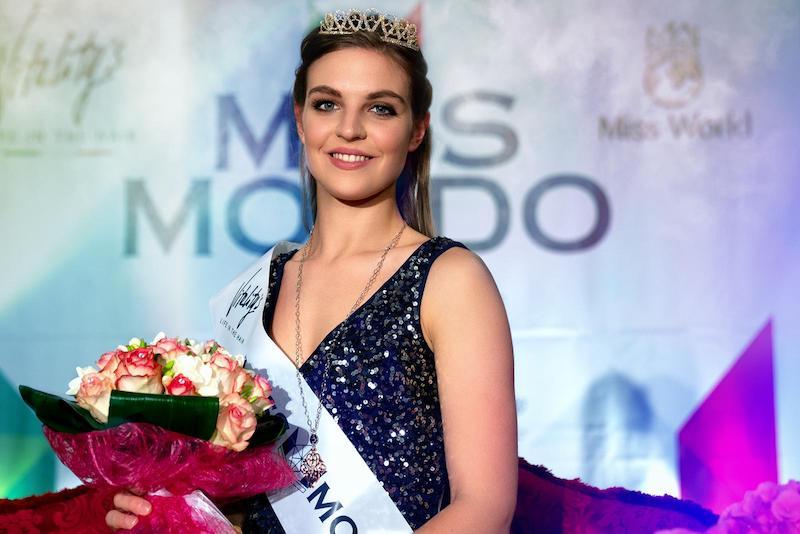 Alla Tenuta La Tacita Diana Giometti conquista la fascia di Miss Mondo Lazio 2019