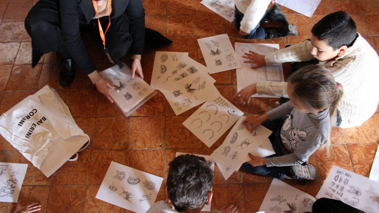"""Dal 30 luglio al 2 agosto 2019 alle Gallerie Nazionali di Arte Antica """"Bambini a Barberini"""": ciclo di incontri e attività dedicate ai bambini dai 6 ai 10 anni"""