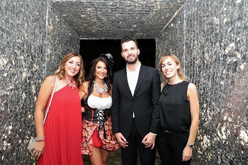 Il party esclusivo di Annalaura di Luggo a Baia di Napoli per la presentazione del trailer del Film Napoli Eden.