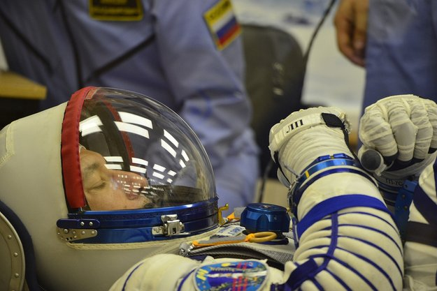 ESA astronaut Luca Parmitano returns from commanding the Space Station