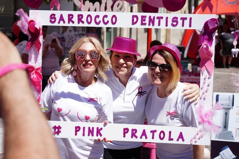 #PinkPratola: grande successo per la carovana della prevenzione