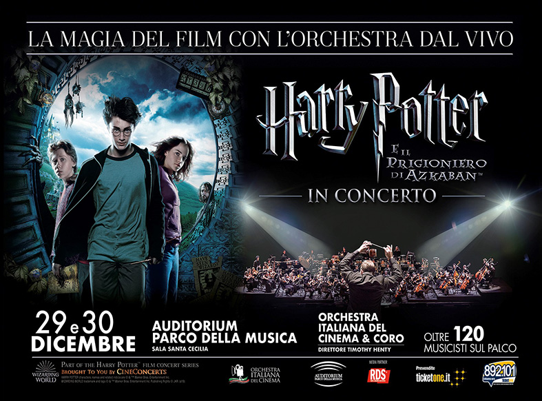 """L' Orchestra Italiana del Cinema annuncia """"Harry Potter e il Prigioniero di Azkaban™ in Concerto"""""""
