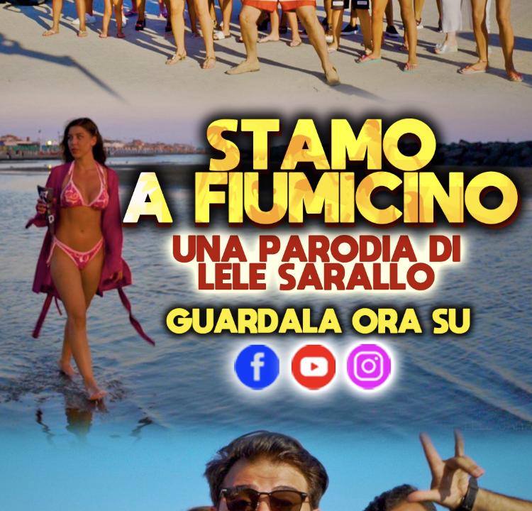 """""""Stamo a Fiumicino"""" la parodia di Lele Sarallo, tormentone dell'Estate 2019"""